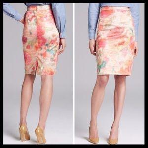 Kate Spade Marit Watercolor Skirt Sz 8